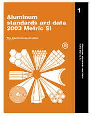 Aluminum Standards and Data Metric SI